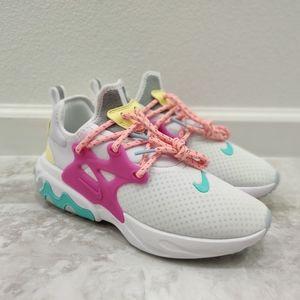 Nike React Presto White Hyper Violet Women Shoes